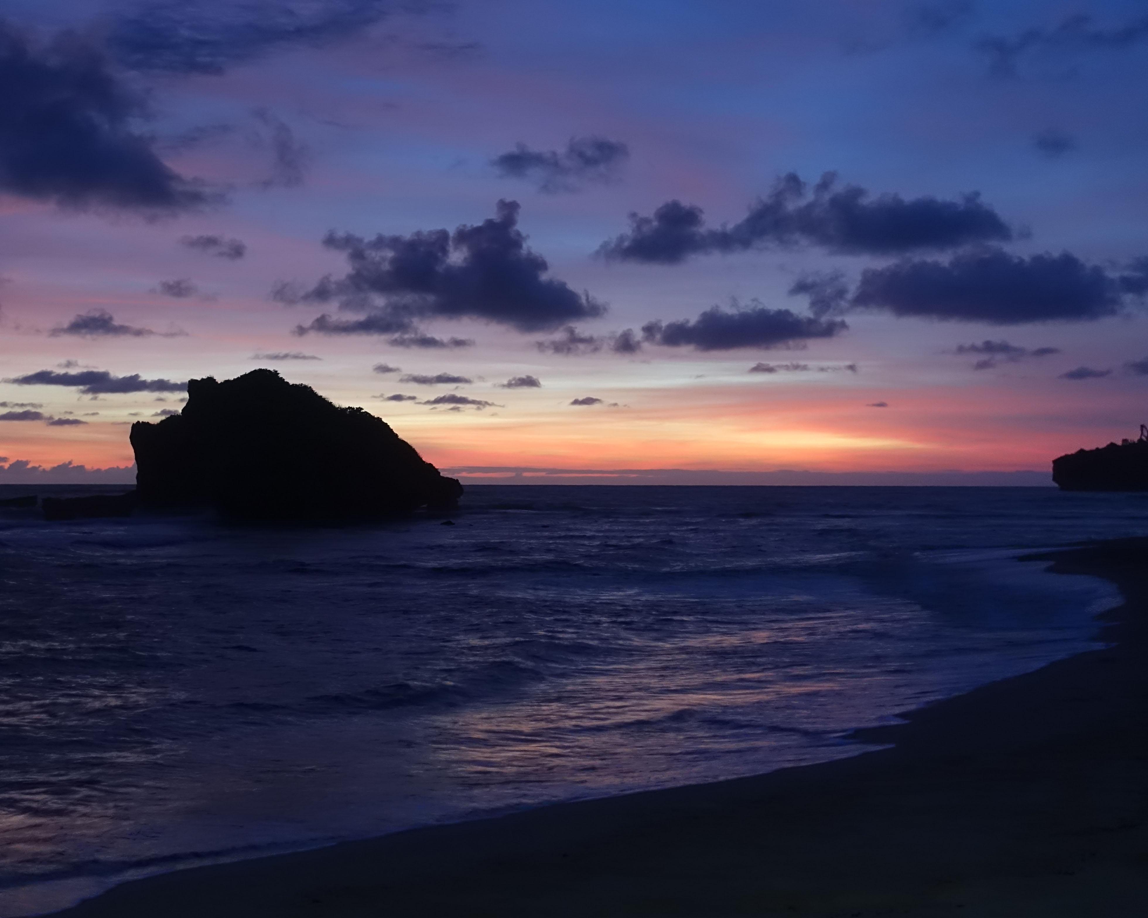 Ngandong sunset Yogyakarta