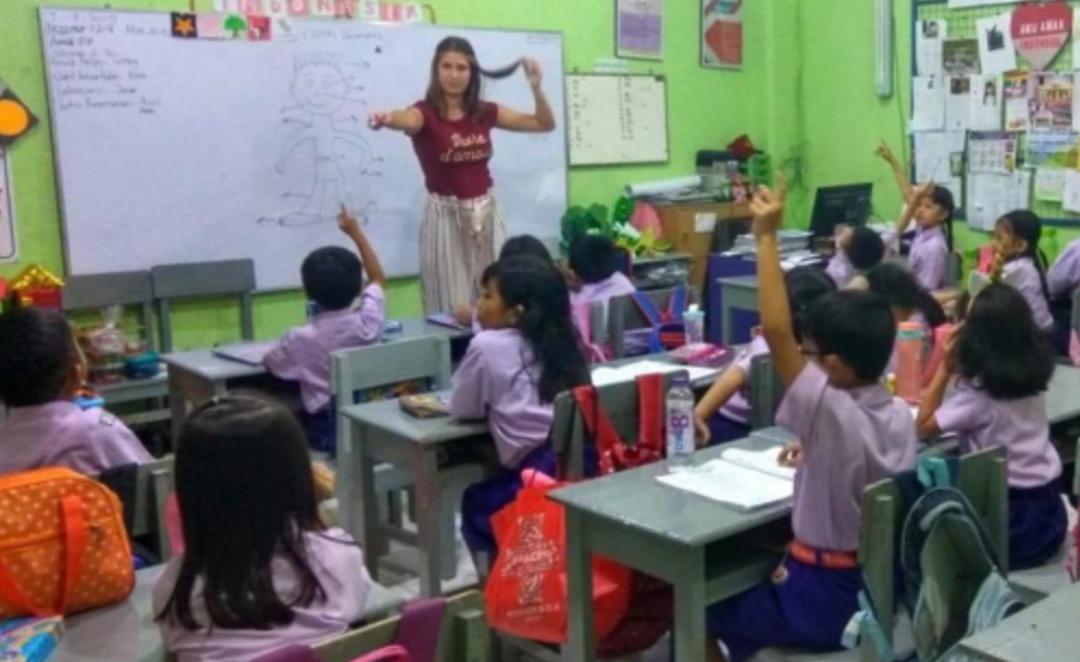 Sophie stage Indonesië - Think Volunteer