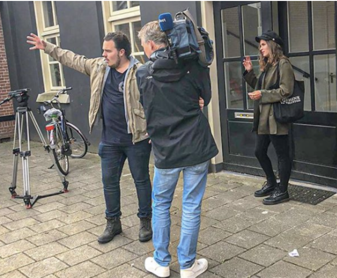 Interview RTV Oost - Think Volunteer